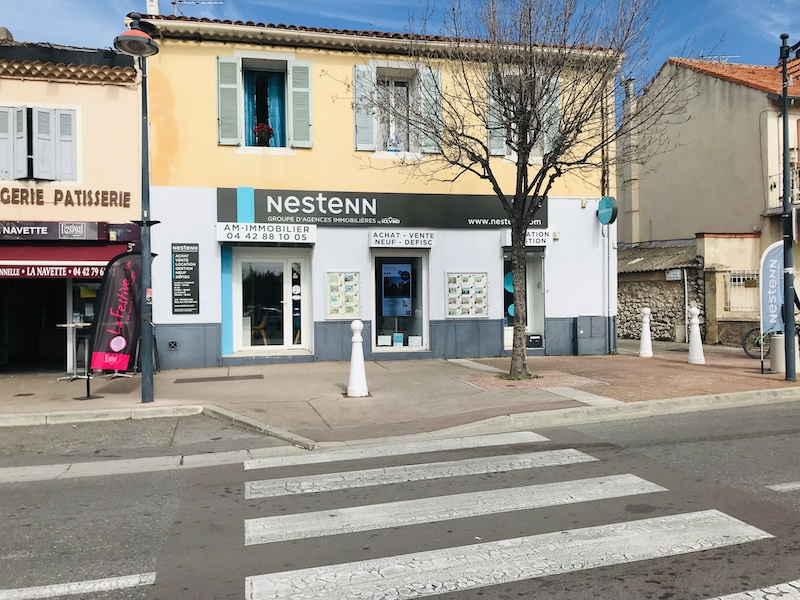 rénovation agence immo Saint-Victoret